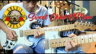 Gun N' Roses Sweet Child O'mine Full Lesson Tutorial  Sampai Melodi Panjang