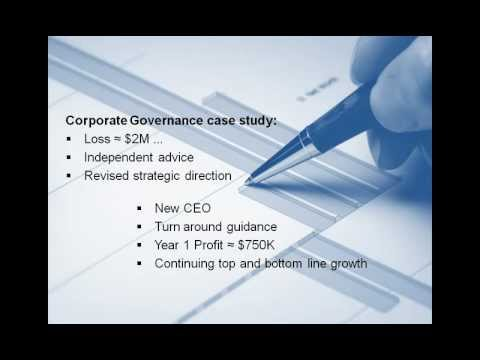 Corporate Governance: An overview. KPMG New Zealand