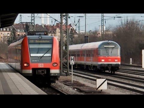 Ein Bahn-Tag in München: Tram Linie 19, U-Bahn in Lehel, S-Bahn München & mehr (Laim-Heimeranplatz)