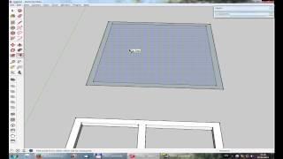 Урок 3  Проектирование дома в SketchUp(1. Группы 2. Компоненты 3. Материалы., 2014-06-09T06:50:57.000Z)