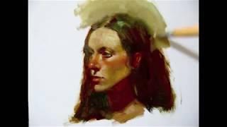 Zimou Tan | Art | Alla prima painting demo.