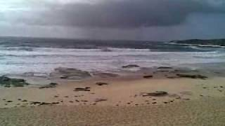 Maroubra Bay Beach Surf Bra Boys Playground Rain Storm
