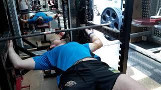 125kg pin lockout 14 January 2018
