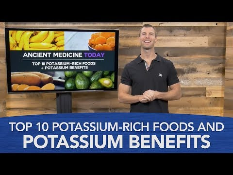 Top 10 Potassium-Rich Foods and Potassium Benefits