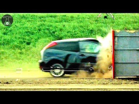 CRASH TESTS 😱   Cars, Buses & Motorcycle