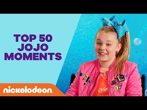 JoJo Siwa's Top 50 Moments 🎀 from Performances & Music Videos to BTS & Guest Starring Roles | Nick