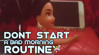 Cathleen's vlog: dont start a bad morning routine