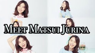 Here is a little introduction video of Matsui Jurina! Hope you guys...