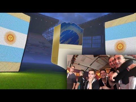 FIFA 18 - TRAFIŁEM MEGA IKONĘ ! MARADONA?