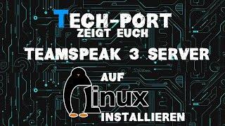 Teamspeak 3 Server auf Linux installieren
