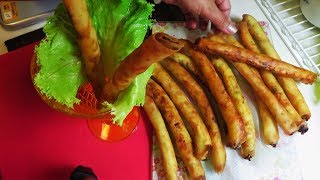 Mashed Potato Lumpia... (spring Roll Recipe)