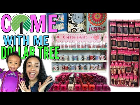 COME WITH ME TO DOLLAR TREE! NEW MAKEUP, RUSTIC DECOR + MORE NEW FINDS!