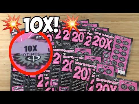 10X Symbol Found!   25 X The New $2 20X Tickets!