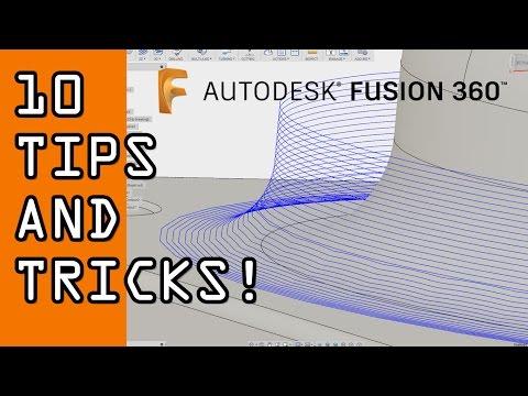 10 Fusion 360 Tips & Tricks!  FF73