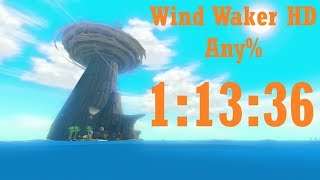 Wind Waker HD Any% Speedrun in 1:13:36