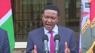 Machakos Governor Alfred Mutua initiates a program that will start demolitions of grabbed land soon
