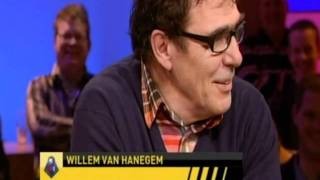 Voetbal International - Wilfred, Johan, rene v/d gijp en willem van hanegem over de Elfstedentocht
