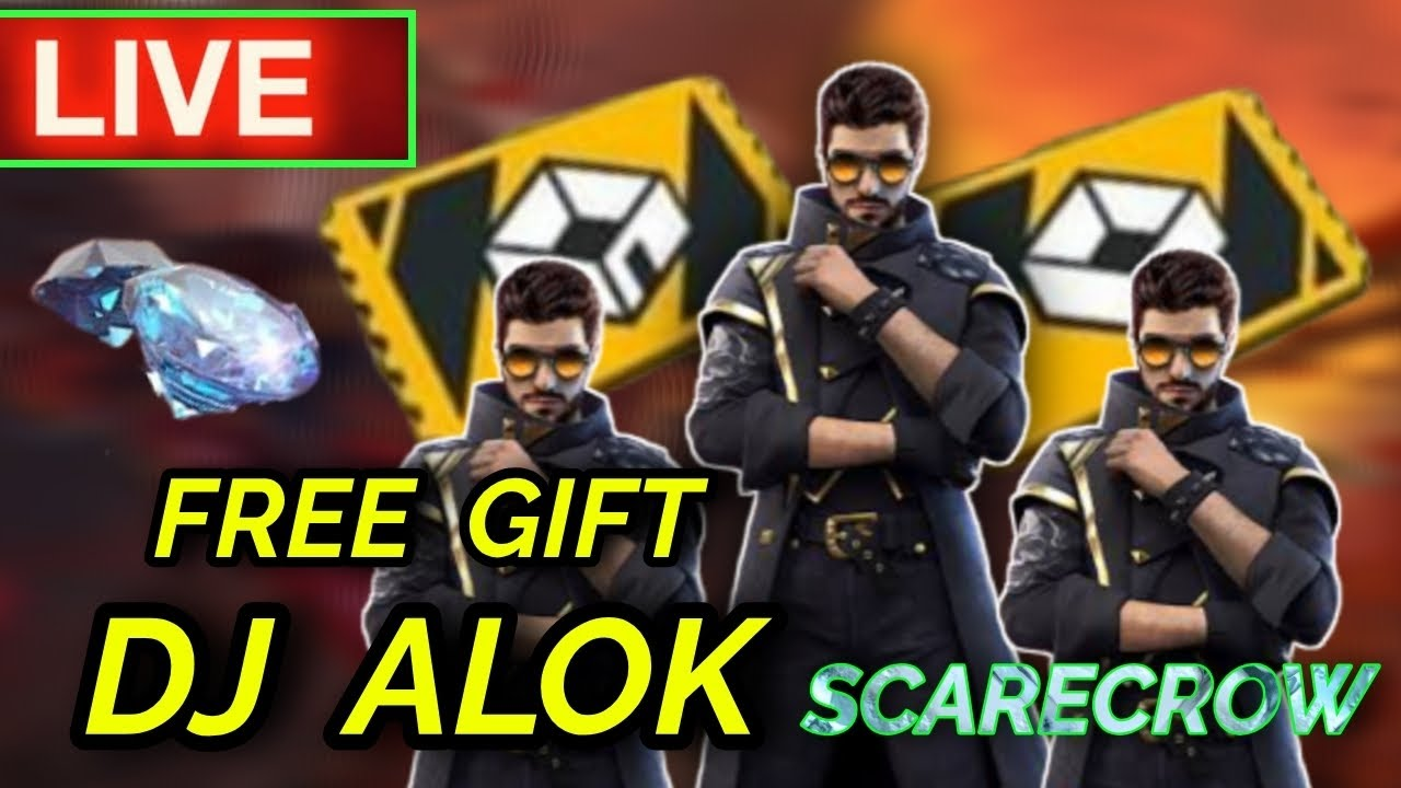🛑FREE FIRE LIVE - SCARECROW - AWM SNIPPING LIKE AJJUBHAI and GYAN GAMING and DESI GAMERS