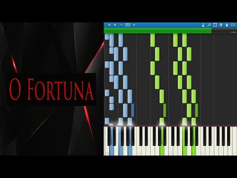 O Fortuna - Carmina Burana (Piano Solo Transcription) | Synthesia