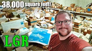 Exploring a MASSIVE Retro Computer Warehouse!