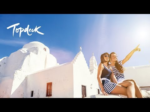 The Best Way to Explore Greece 😍 | Topdeck Travel