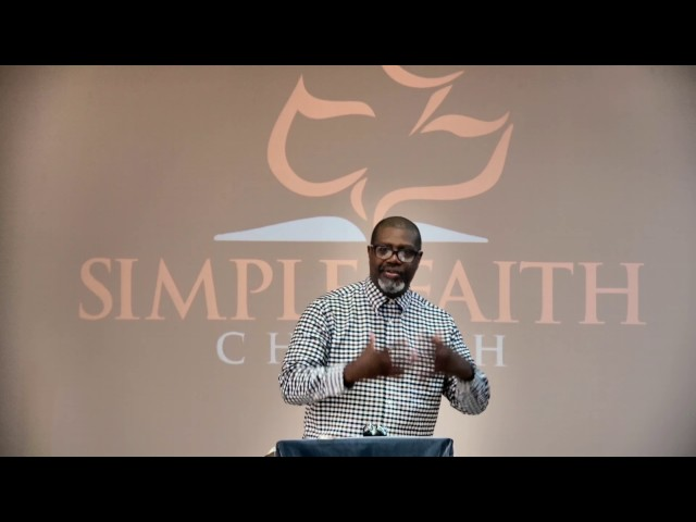 Give Us A Sign - Mark 8:9-30 - Pastor George Hillman - Simple faith Church
