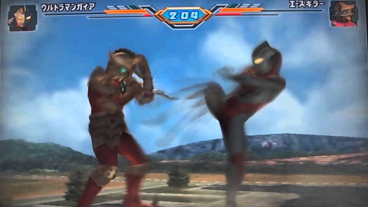 Ultraman Fighting Evolution 3 Ps2 Gameplay