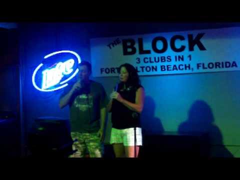 Cindy Campell & Bill Harris - Karoke