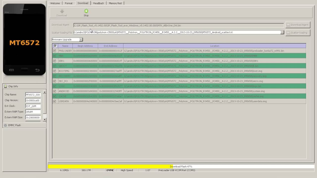 Cara Flash Polytron R3500 Flash Tool Youtube
