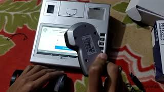 Step by tutorial on how to use iris scanner oasys cybernetics e-pos ration distribution device. *only for the shop keepers operate through ...