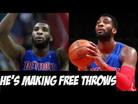 How Andre Drummond Transformed Himself and the Detroit Pistons