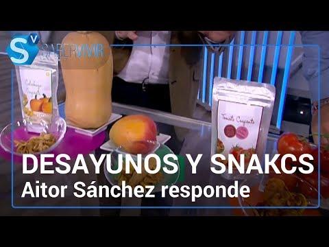 Desayunos y snacks saludables | Aitor Sánchez responde en 'Saber vivir'