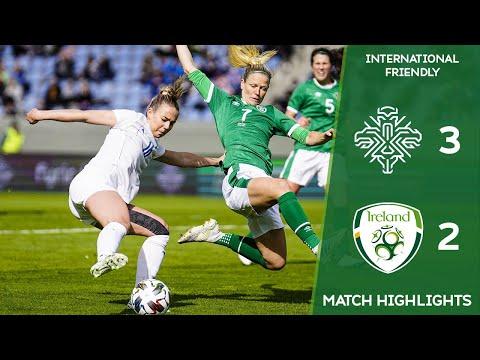 HIGHLIGHTS | Iceland WNT 3-2 Ireland WNT - International Friendly