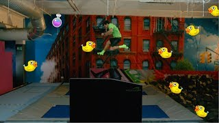 ValoJump – interactive trampoline game platform