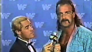 Jake Roberts Promo on George Steele (July 1986)