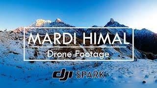 Wonderful Mardi Himal | Drone Footage ~ Mardi Himal Trek
