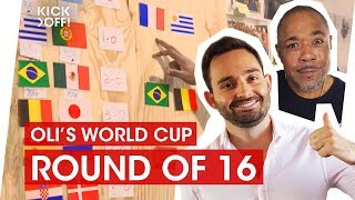 World Cup 2018 Predictions Show | Round of 16: England, Brazil, Mexico, Belgium, Russia