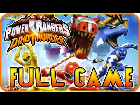 Power Rangers: Dino Thunder FULL GAME Walkthrough Longplay (PS2, Gamecube)