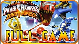 Power Rangers: Dino Thunder FULL GAME Movie Longplay (PS2, Gamecube)