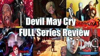 EmptyHero Vs EVERY Devil May Cry Game