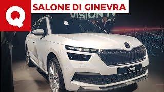 Skoda Kamiq, la SUV compatta sfida T-Cross e Arona - Salone di Ginevra 2019 | Quattroruote