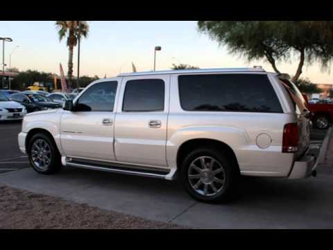 2004 cadillac escalade esv platinum edition awd for sale in phoenix az youtube 2004 cadillac escalade esv platinum