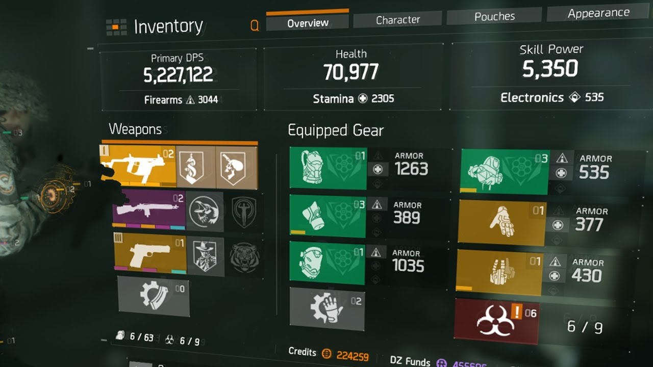 Build For Pvp The Division