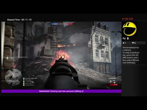 Taz Cook´s Live PS4 Broadcast
