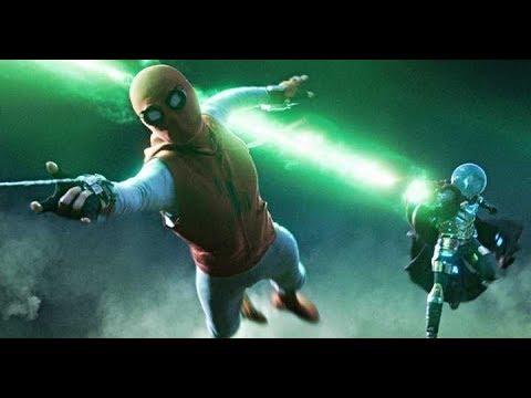 Spider Man Vs  Mysterios  Illusion Full Fight Scene Spider Man Far From Home (2019) In1080p