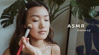 ASMR Makeup Application ft. Weylie (whisper)