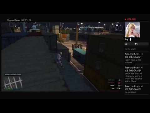 Grand Theft Auto V Livestream FREE MONEY JOBS DROP GUN RUNNING DLC