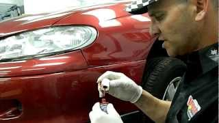 (Part 1)www.touchuppaints.com.au / Scratch Repair / kit code Btkw 37 / Car Scratch Repair.MOV