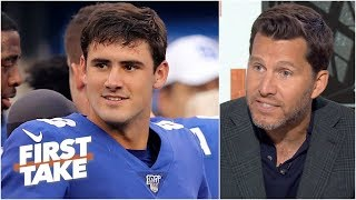 Giants have a 'full blown' QB controversy with Daniel Jones – Will Cain | First Take