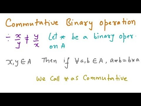 Algebraic System - Binary Operations, Semi-Group & Monoid